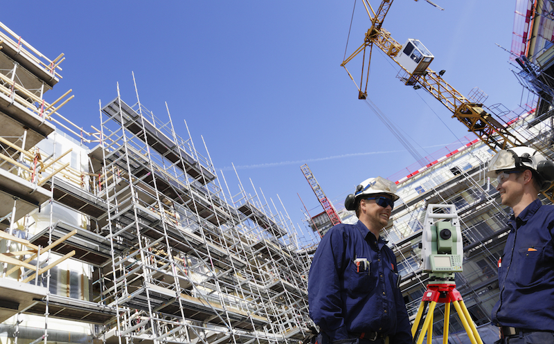 surveying engineers and construction industry