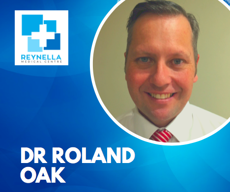 Welcome Dr Roland Oak