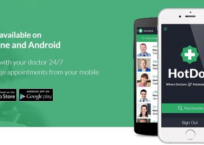 HotDoc Banner - Contact Us Page